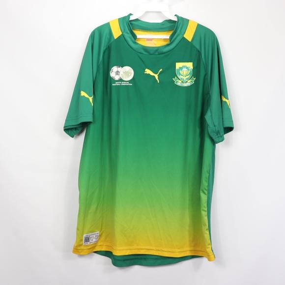 50fe993e814 Puma Shirts | Mens Xl South Africa Soccer Football Jersey | Poshmark